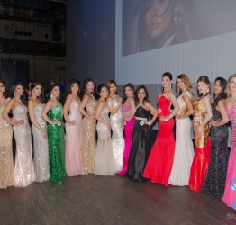 SUPER WORLD VITAMINS at the Queen Elizabeth Theatre, proud support sponsor for MISS WORLD AND MR WORLD 2015.  May,16th